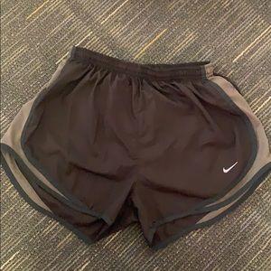Brown dri fit Nike shorts